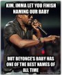 Kim and Kanye's Baby Name